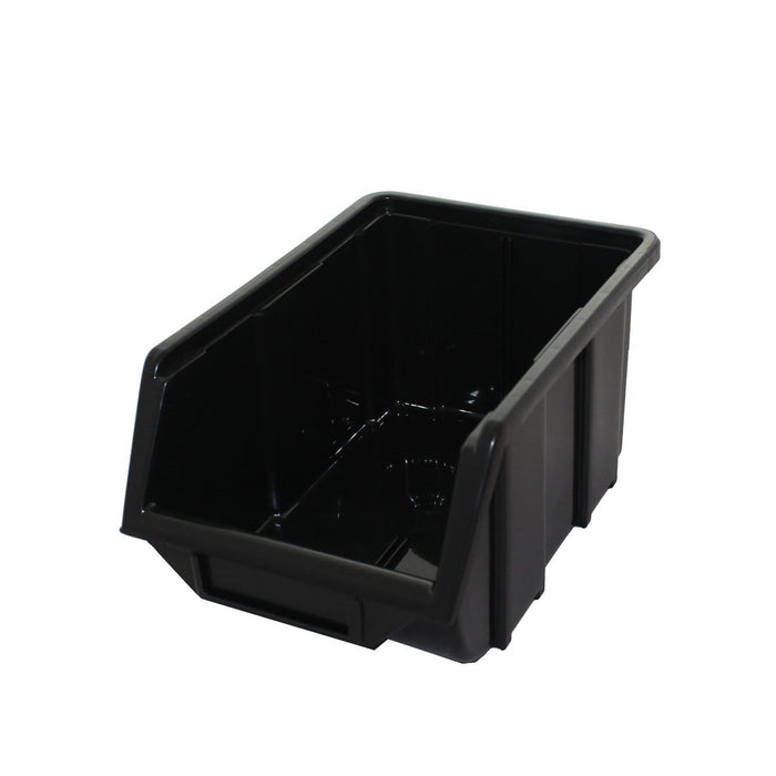 Black Recycled Plastic Parts Bin FB2