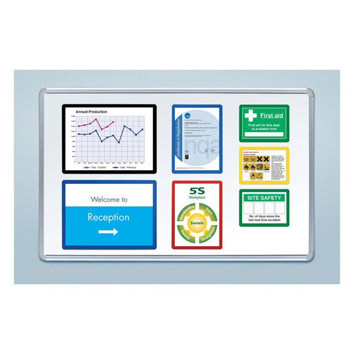 Magnetic Document Frame - Pack 10 (Various Sizes)