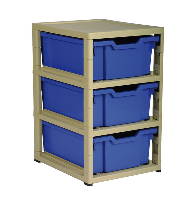 GratStack (3 x F2 Trays) GS641 (Castors Available)