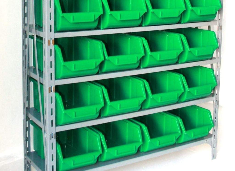 Plastic Parts Bins Green