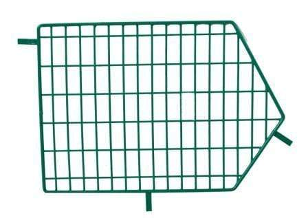 MT8 Green Wire Storage Baskets - Divider