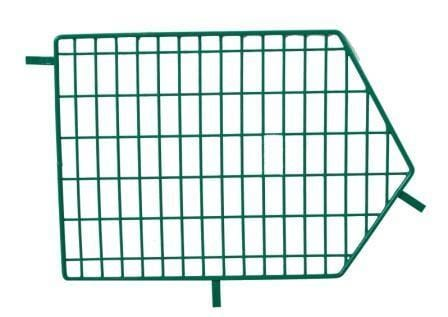 Green Wire Storage Basket Dividers - Not Included