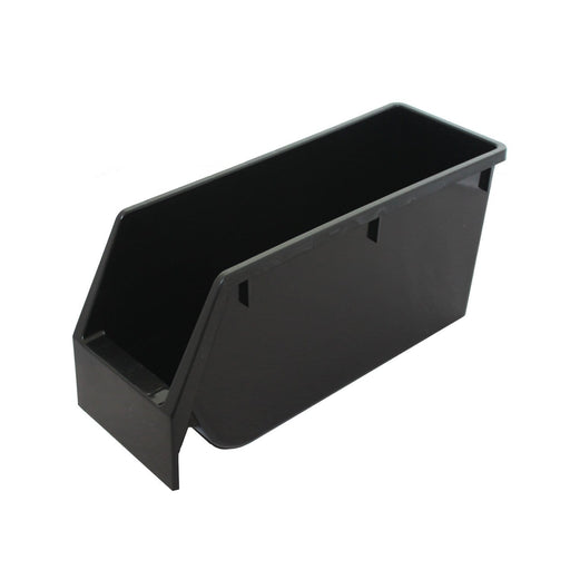 Narrow Black Recycled Budget Parts Storage Bin
