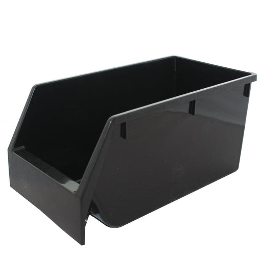 Large Black Recycled Budget Parts Storage Bin