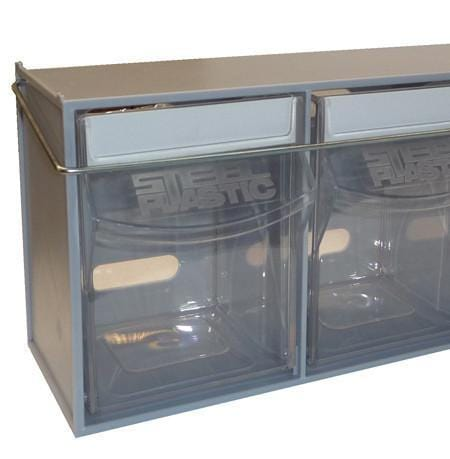 Complete Van Storage Tilt Bin Kit (41 compartments)