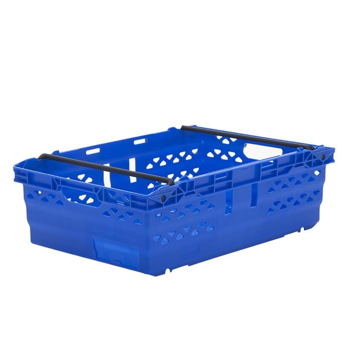 Bale Arm Crate Blue