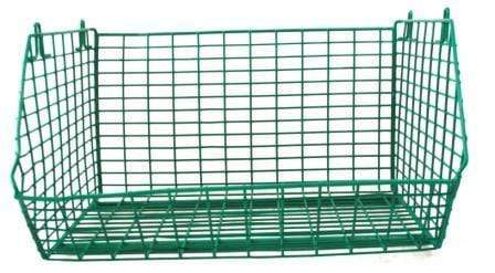 MT8 Green Wire Storage Baskets - Single