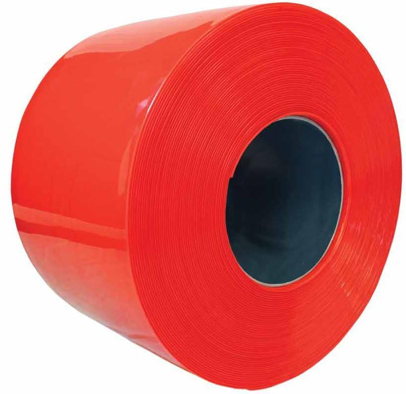 50m Roll PVC Strip Curtain (Red)