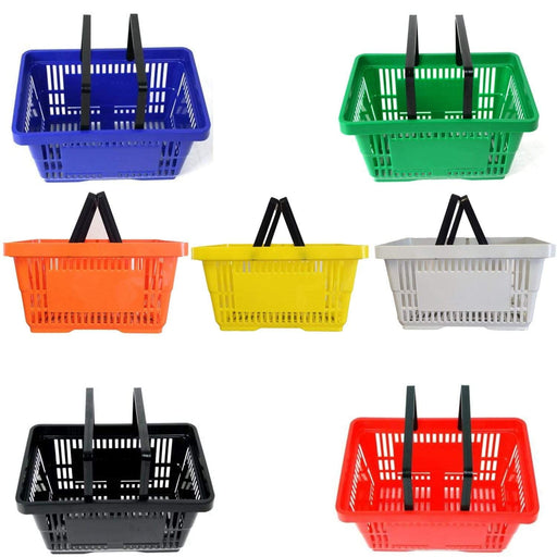 2 handle Shopping Baskets - All colours