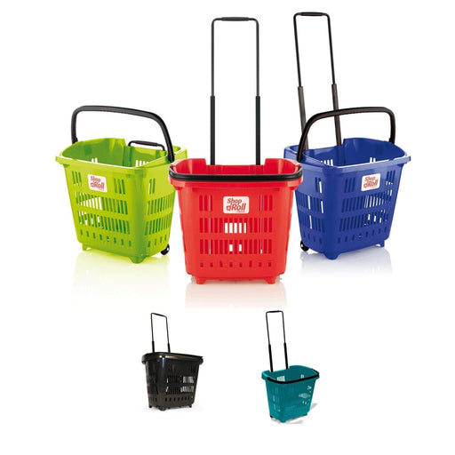 34L trolley baskets- all colours
