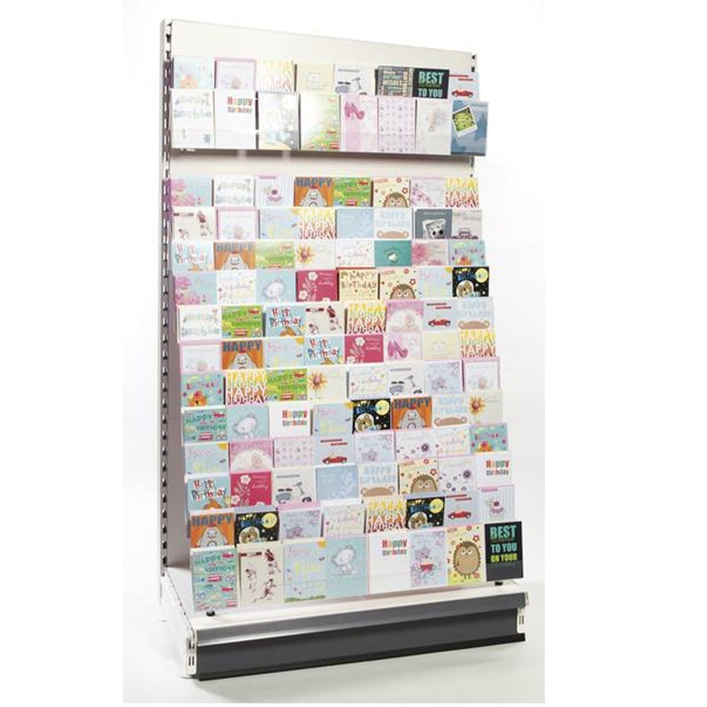 2.2m High Wall Greeting Card Display Bay