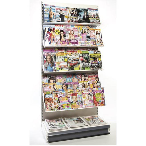 2.2m High Wall Magazine/News Bay