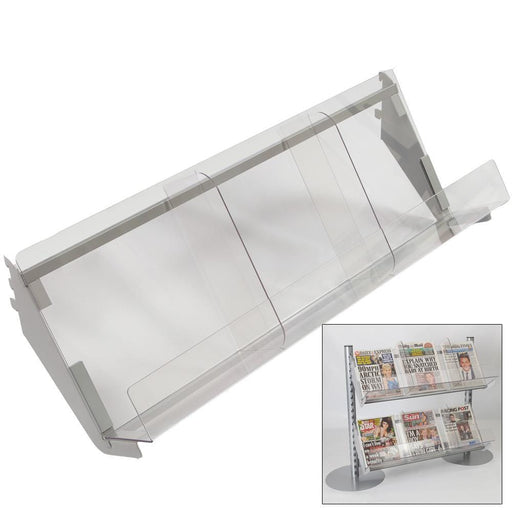 Newspaper Shelf for Queue System