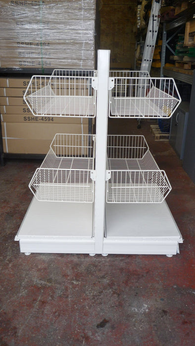 Wire Basket for Shop Shelving