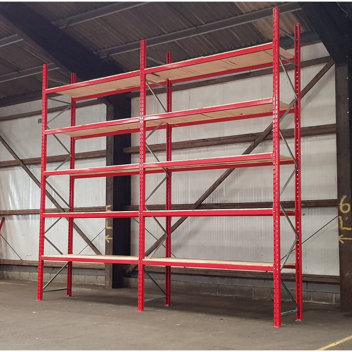 Pallet Racking with Boards