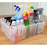 Clear Plastic Storage Box Organiser Under Sink Cupboard Wardrobe Container