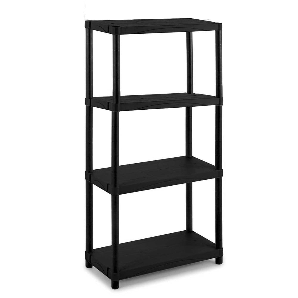 Solid Recycled Plastic Shelving 25kg/level 3060S/4