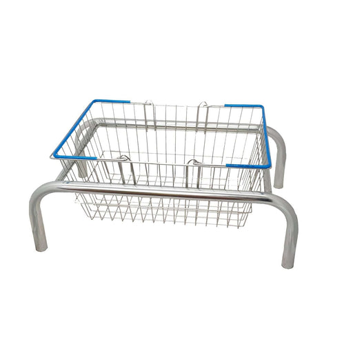 Wire Shopping Basket Plinth