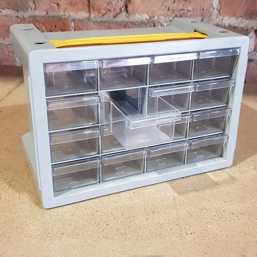 Poker 16 Compartment Storage Cabinet Organiser