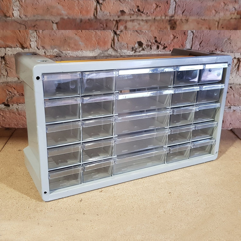 Poker 25 Compartment Storage Cabinet Organiser