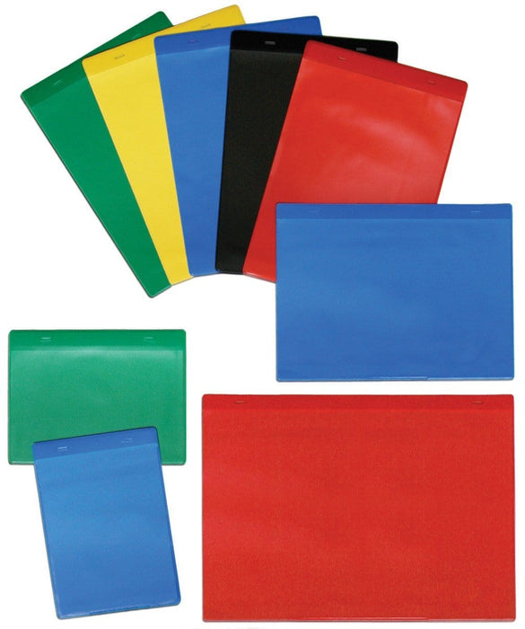 Colour Magnetic Pocket - Pack 10