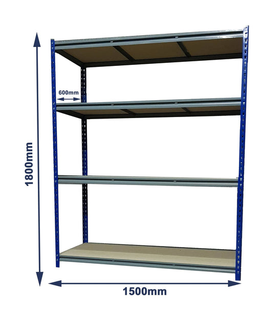 Express Bolt-less Rivet Racking (1500x600x1800mm)