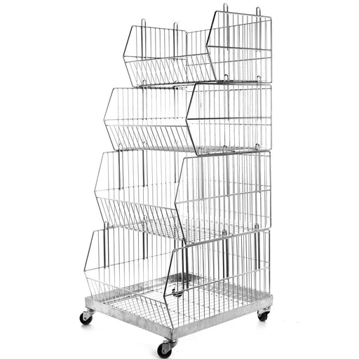 Wire Stacking Basket Set