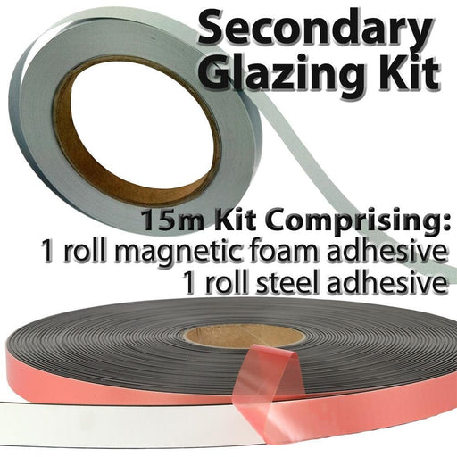 Secondary Glazing Magnetic Tape Kit