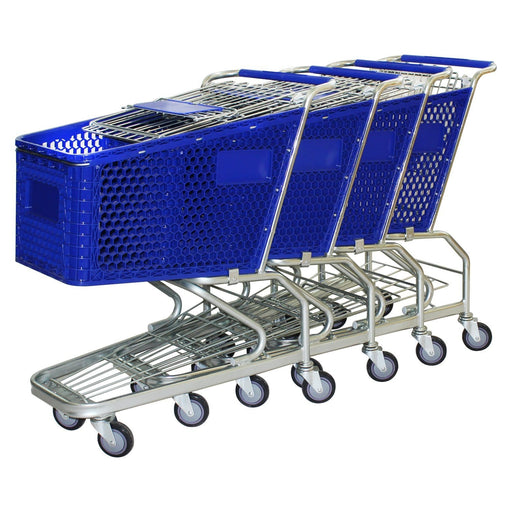 Set of 4 100L trolleys