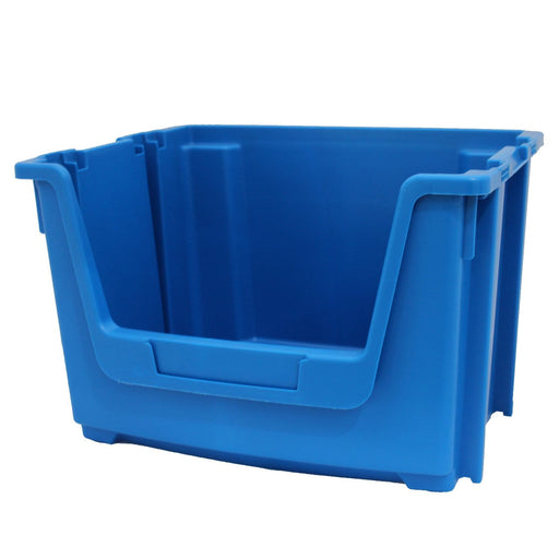 Blue Large Stacking Pick Bin Containers