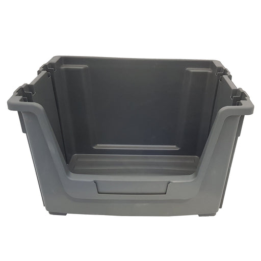 Grey Large Stacking Pick Bin Containers