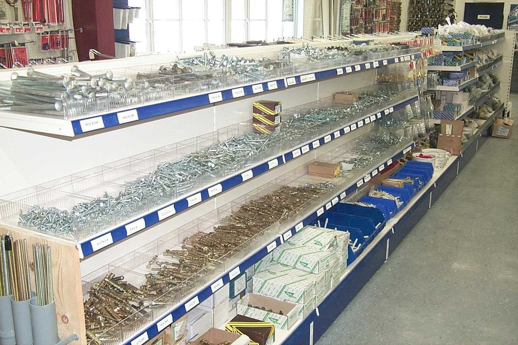 Plastic Dividers for Shop Shelving