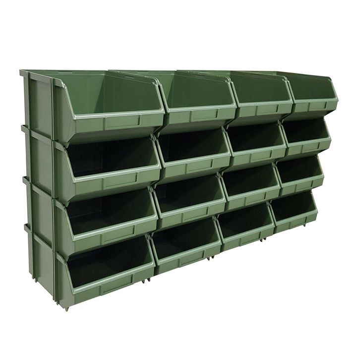 Pack of 16 x Interconnecting Union Storage Bin C