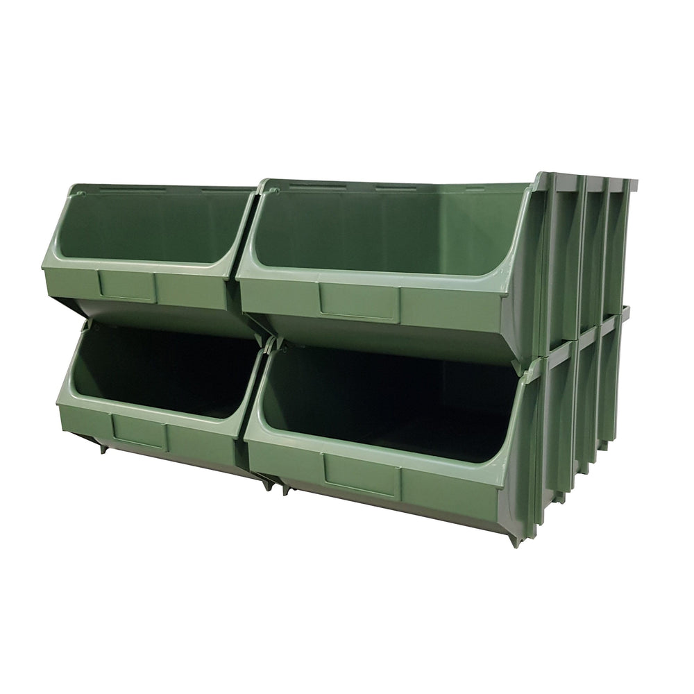 Pack of 4 x Interconnecting Union Storage Bin E