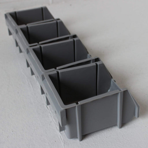 Wall Storage Kit 20 Parts Bins & Rails (PRB205)