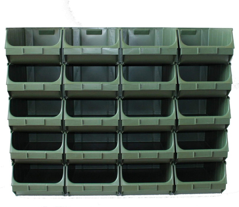 Container Pick Wall  - 20 x Interconnecting Union Storage Bin Union F