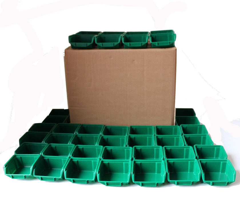 Pack of 40 x Stackable Storage Parts Bin (110)