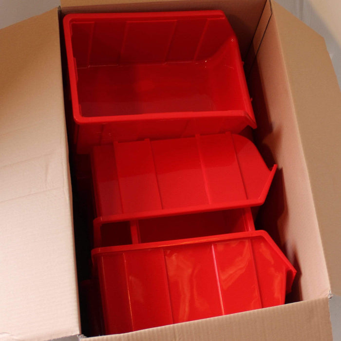 Pack of 10 x Stackable Storage Parts Bins (114)
