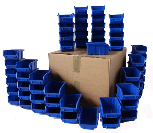 Pack of 60 x Stackable Parts Bin Ref 111