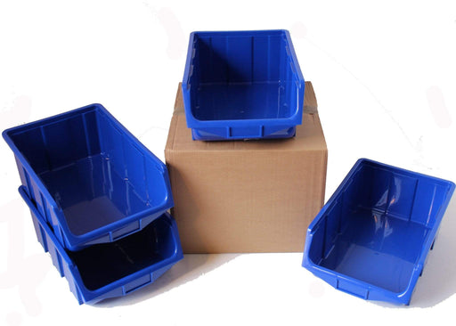 Pack of 4 x Stackable Parts Bin Ref 115