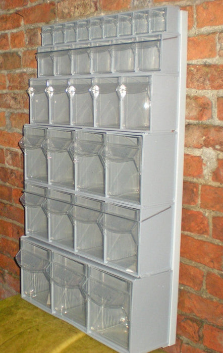 Metal Wall Frame for Tilt Bins (VS510)