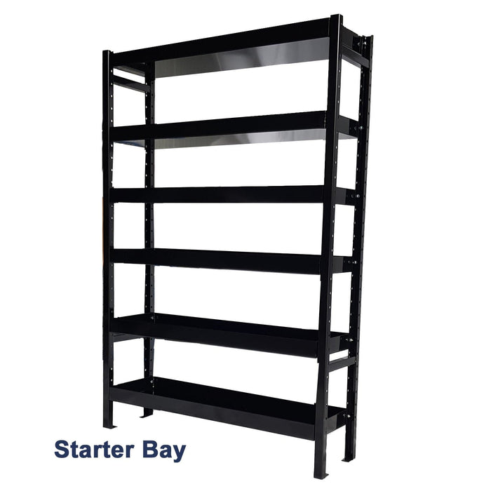van racking starter bay