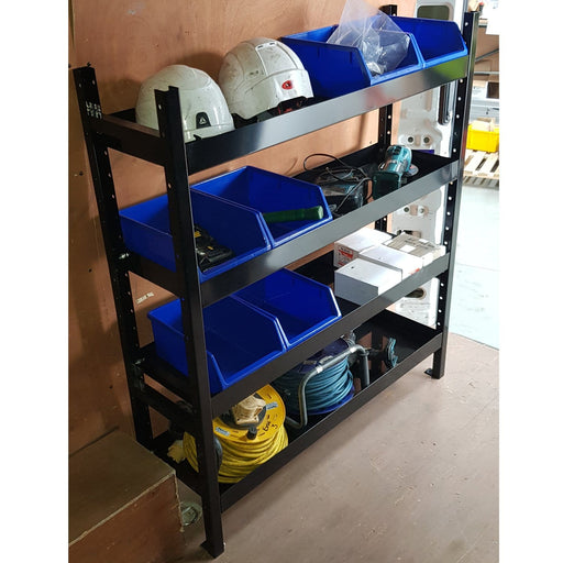 Universal Metal Van Racking & Shelving Storage System (1200mm high)