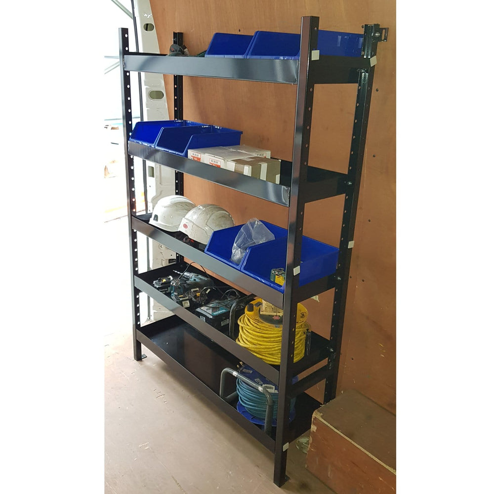 Universal Metal Van Racking & Shelving Storage System (1600mm high)
