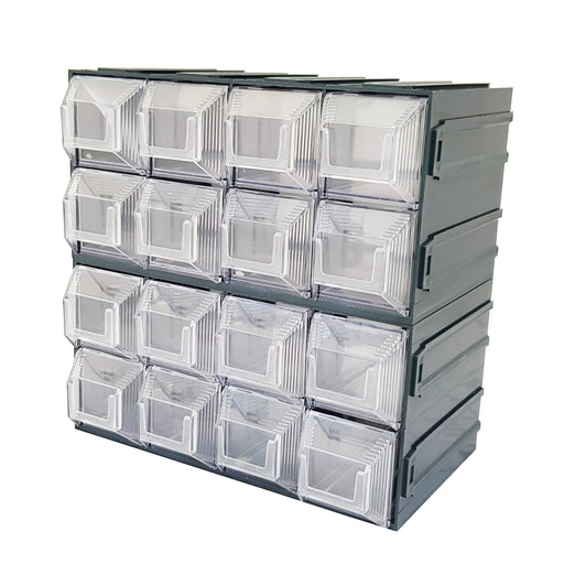 Vision Storage Block 12TR - 16 Drawer Compartment Organiser