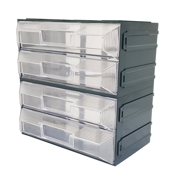 Vision Storage Block 14 - 4 Drawers Compartment Organiser
