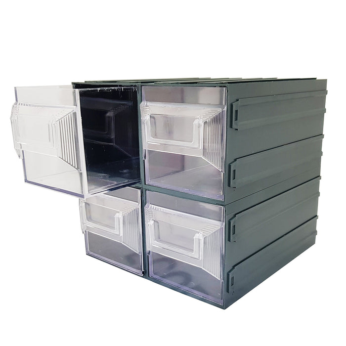 Vision Storage Block 17TR - 4 Drawer Compartment Organiser