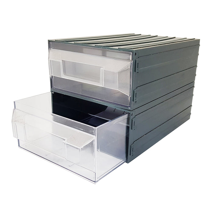Vision Storage Block 19TR - 2 Drawer Compartment Organiser