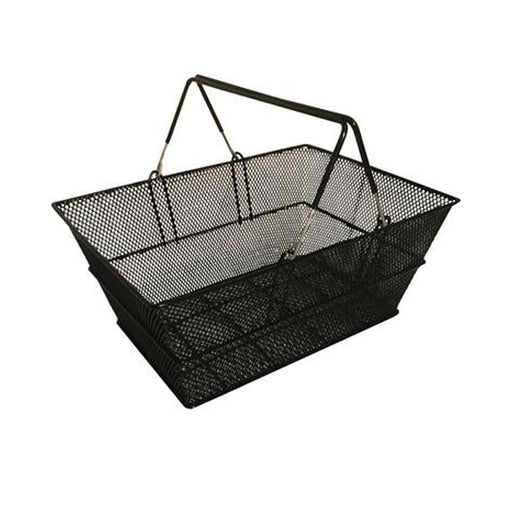 Black Luxury wire shopping basket