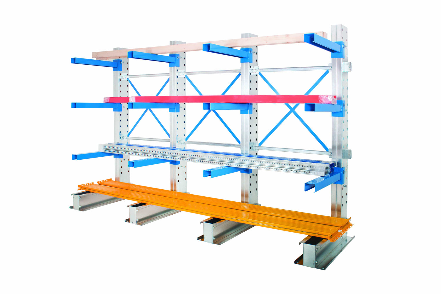 Cantilever Racking with props